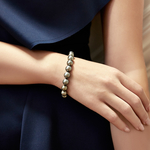 9-10mm Tahitian South Sea Pearl Bracelet - Model Image