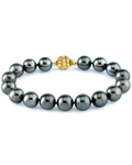 9-10mm Tahitian South Sea Pearl Bracelet - Third Image