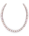 7-8mm Pink Freshwater Pearl Choker Length Necklace