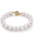 8.5-9.0mm Akoya White Pearl Bracelet- Choose Your Quality - Third Image
