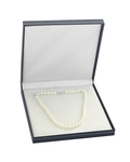 7.0-7.5mm Japanese Akoya White Choker Length Pearl Necklace- AA+ Quality - Fourth Image