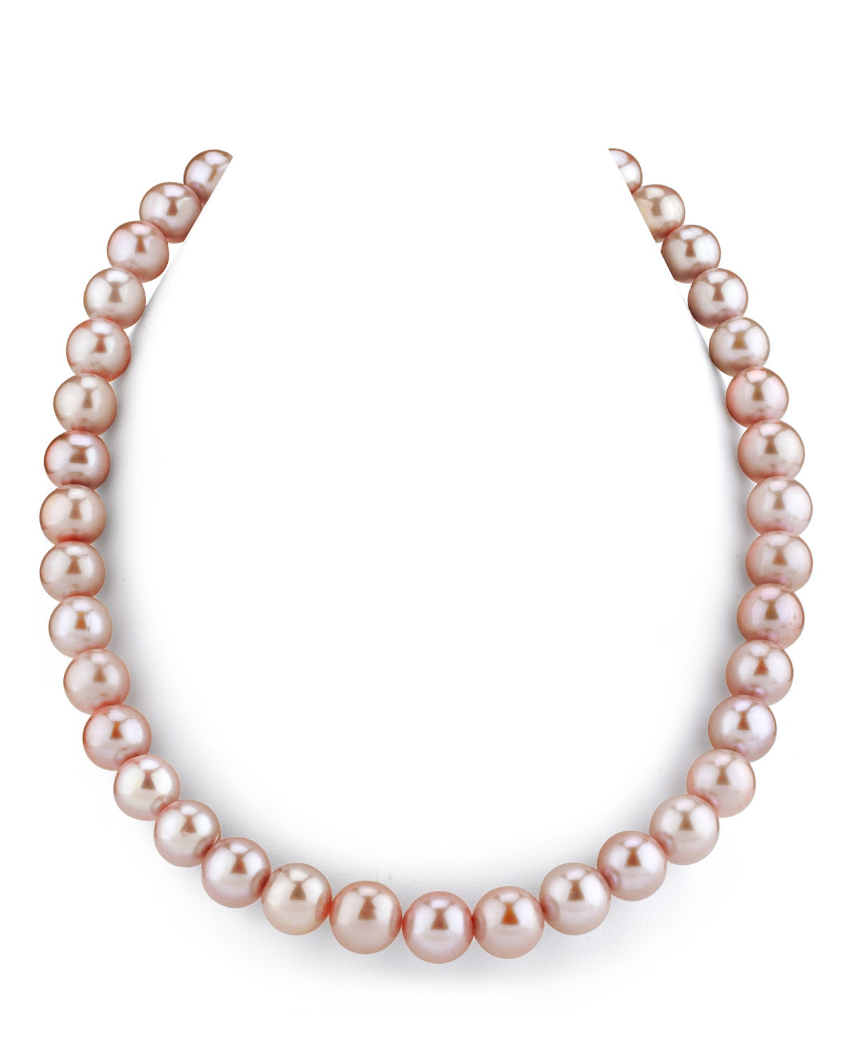 11-12mm Pink Freshwater Pearl Necklace